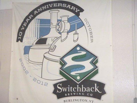Burlington Brew Tours : Switchback Brewery