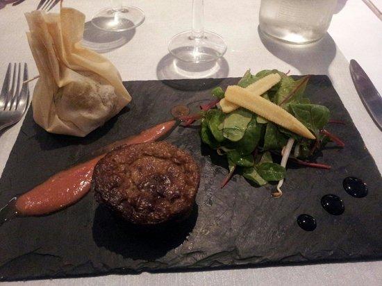 Les Saveurs de Provence : Sublime entrée au chèvre et moelleux d'aubergines !