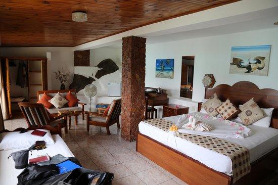 Chalets Cote Mer: chambre supérieure