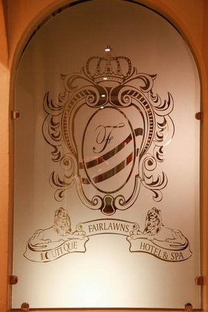 Fairlawns Boutique Hotel & Spa : Crest