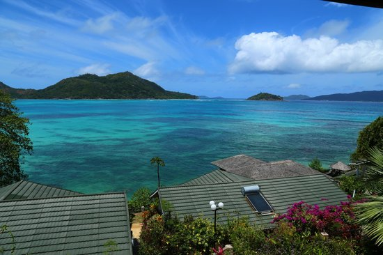 Chalets Cote Mer: Magnifique vue depuis le balcon