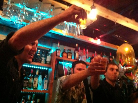 Rock Bar Cherry Bomb: Shots!