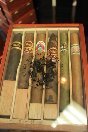 Cuba Tobacco Cigar Co: Variety top of line pack, $75