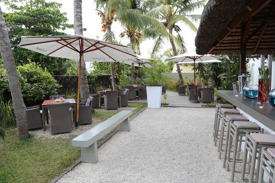 Esprit-Libre Restaurant & Guest-House: Le jardin