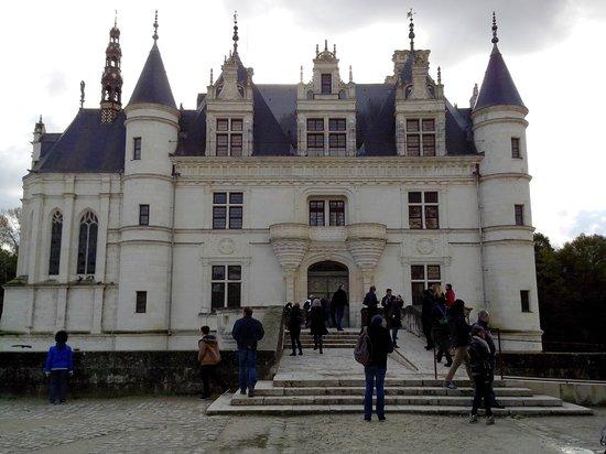 Château de Chenonceau : entrée du chateau