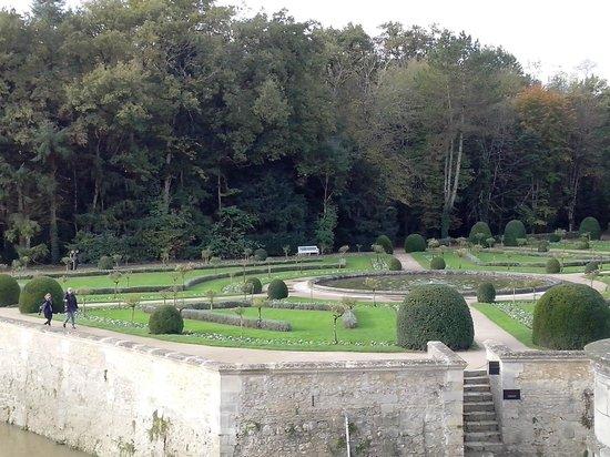 Château de Chenonceau : Jardin de Catherine de Medicis