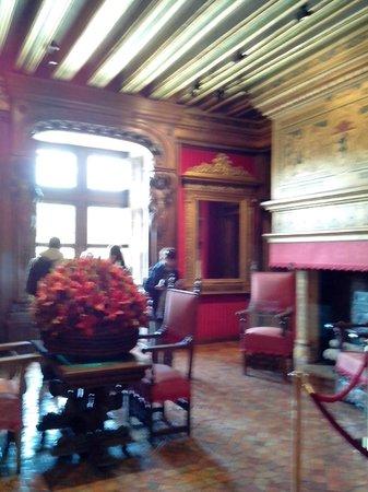 Château de Chenonceau : salon de César de Vendome