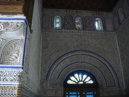 Glaoui Palace, Fez : Salón en Patio