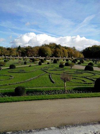 Château de Chenonceau : jardin de Diane de Poitiers