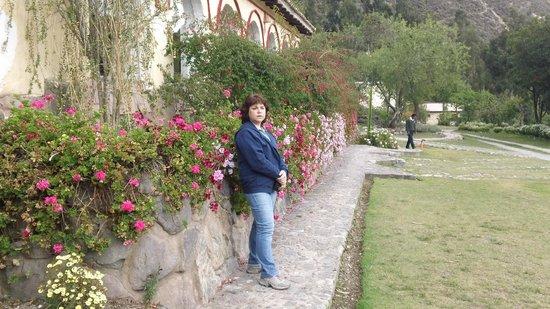 Hotel Hacienda del Valle: Hermosos jardines