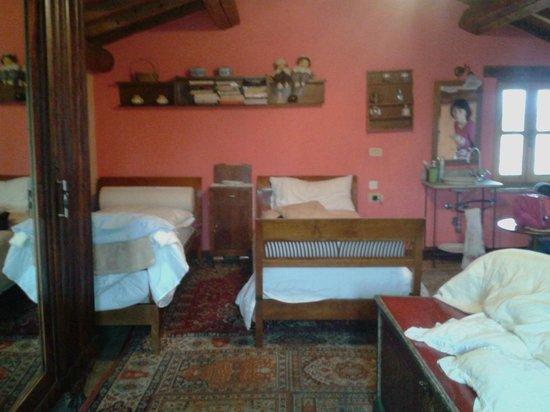La Casa di Marla: la camera in mansarda