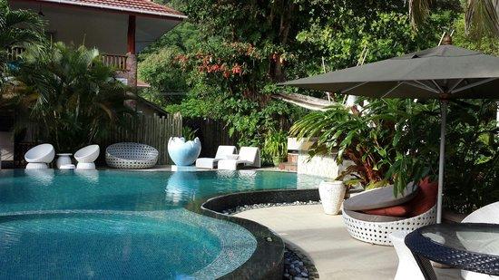 Le Duc de Praslin: La piscina