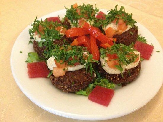 Restaurant Le Libanais : assiette de falafel