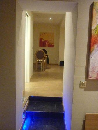 Hotel Bristol : l'entrée