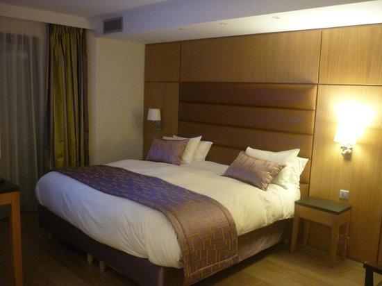 Hotel Bristol : le lit !