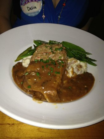 House of Blues Restaurant & Bar : Meat loaf