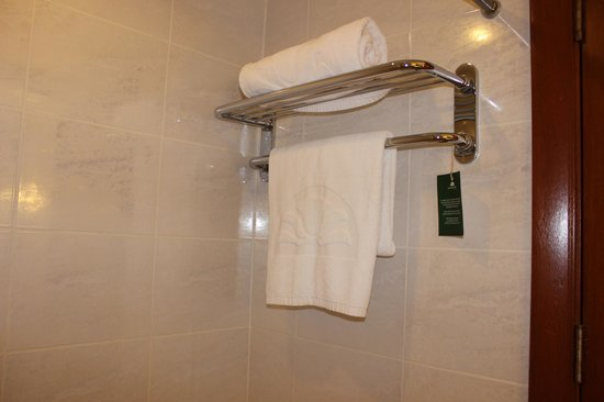 City Garden Hotel Makati : towel rack