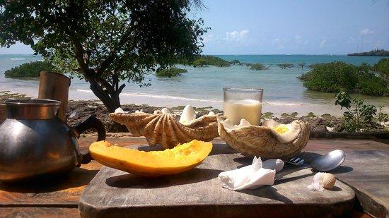 The Beach Africa: desayuno en la terraza