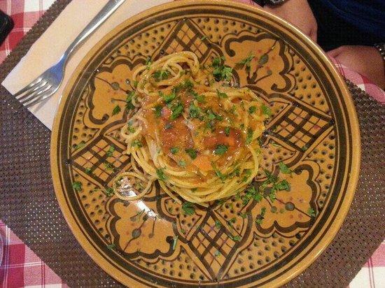 Rosso di Sera: Spaghetti con ricci