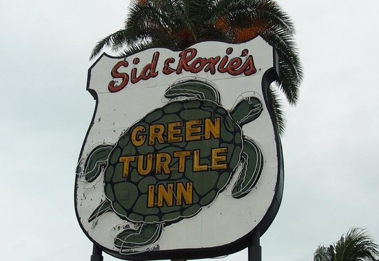 Green Turtle Inn: The sign