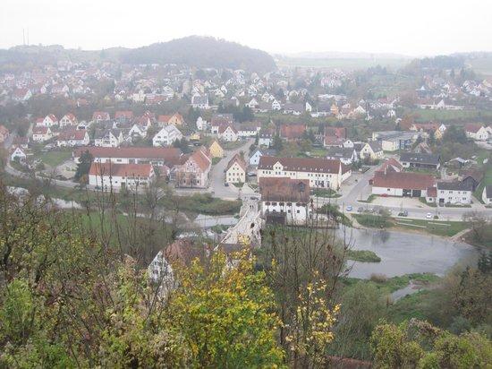 Harburg Castle: Vista dal castello