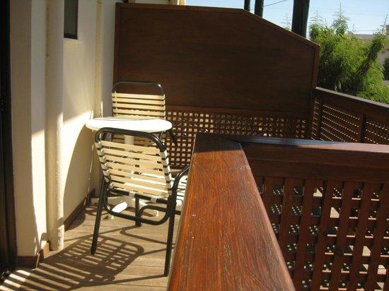 Oasis Hotel: balkon