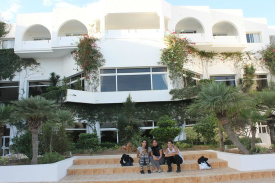 Djerba Plaza Hotel & Spa : dietro la hall