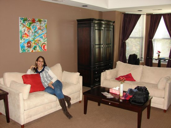 Meridian Manor Bed and Breakfast: Nosso quarto...