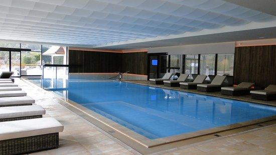 Hotel Julien : piscine dans le nouveau spa