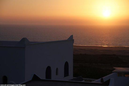 Dar Janoub Maison d'Hôtes : Splendide coucher de soleil