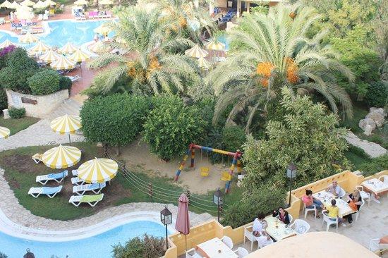 Chich Khan hotel : vista dalle camere