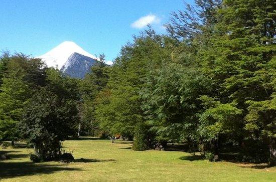Cabanas Metrenehue - Parque Metrenehue: Volcan Villarrica desde el parque