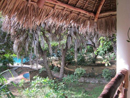 Milele Malindi Residence : vista terrazza