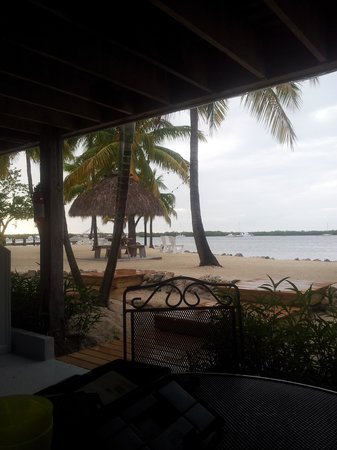 Coconut Palm Inn: Sitting on our Porch