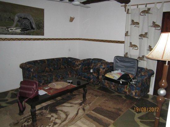 Milele Malindi Residence : salotto