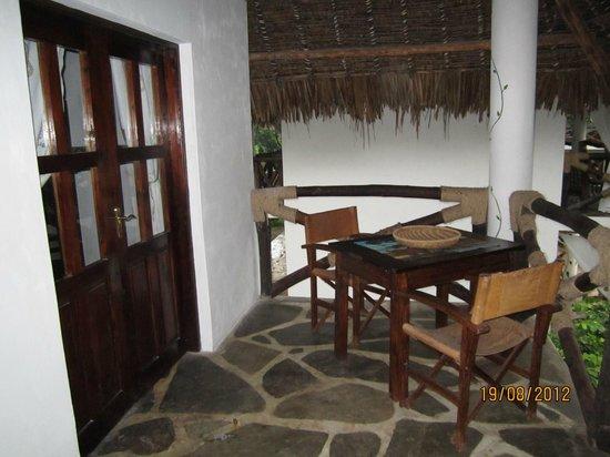 Milele Malindi Residence : terrazzo