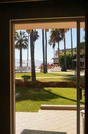 Estero Beach Hotel & Resort : The view from our room.