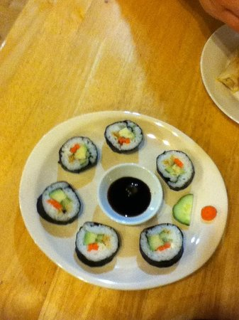 Tai Chi Gardens : Sushi