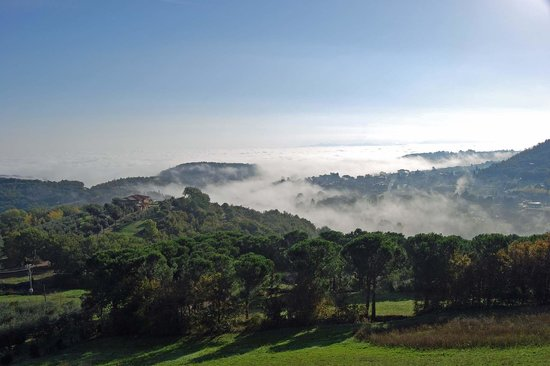 Hotel Panoramic : Blick vom Hotel - Landschaft