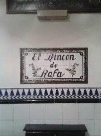 El Rincon de Rafa: Entrance