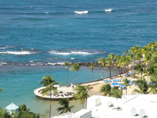 Caribe Hilton San Juan: View from room