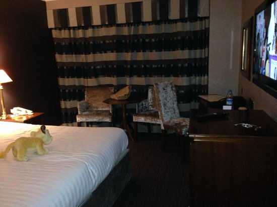 Forster Court Hotel: Chambre