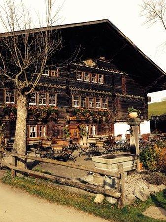 Landgasthof Ruedihus : Der Garten des Ruedihus