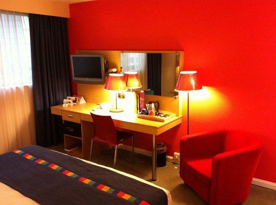 Park Inn by Radisson Cardiff City Centre: Our room2 on the 1st floor