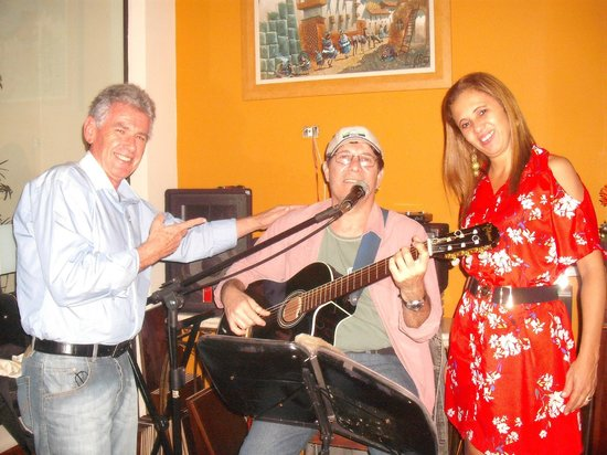 Armazem Restaurante: Música muito boa