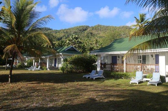 Chalets d'Anse Forbans: Les bungalows