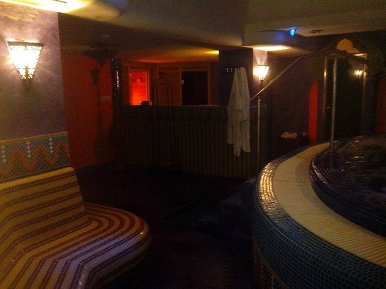 Amira Boutique Hotel Wellness & Spa: Wellness area - little but nice and romantic