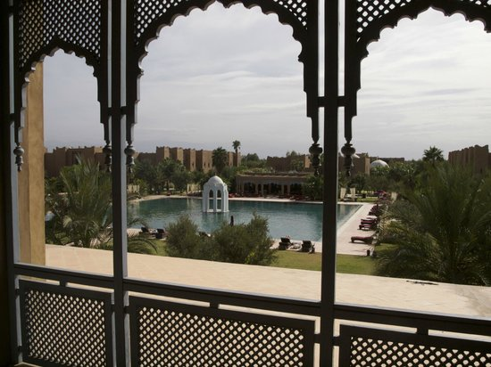 Sahara Palace Marrakech: View from verandah - Palace Atlas Room