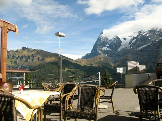 Eiger Guesthouse: view from the front of the guest house