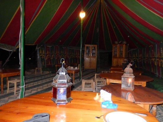 Camping Le Roi Bédouin : Restaurant
